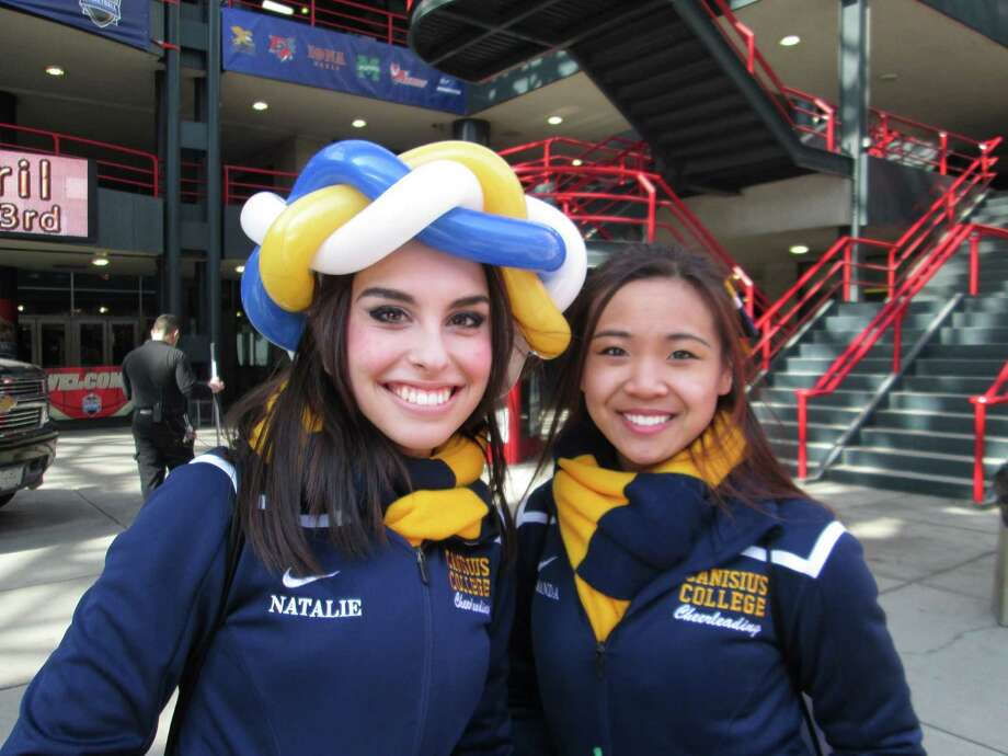 Were you Seen at the MAAC Basketball Tournament Fan Fest outside the Times Union Center on South Pearl Street in Albany on Saturday and Sunday, March 7-8, 2015? Photo: L. Audio