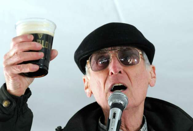 Mike Roche performs with The Three Irish Voices during the Collar City Kilt Fest on Saturday March 7, 2015 in Troy, N.Y.  (Michael P. Farrell/Times Union) Photo: Michael P. Farrell / 00030325A
