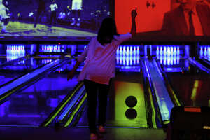 Bowlers of all skill levels play as patrons enjoy the facilities at Bowlero on Feb.27.