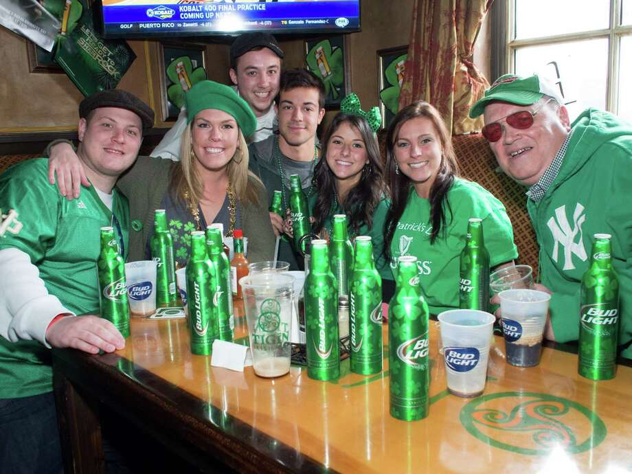 Stamford's annual St. Patrick's Day Parade was held on March 7, 2015. Were you seen celebrating in downtown Stamford and at Tigin Irish Pub? Photo: Keith Coleman
