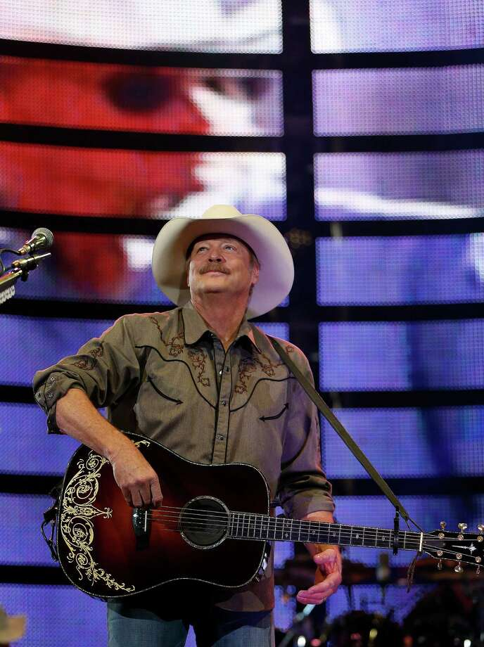"Alan Jackson previews a new tune, ""You Never Know,"" on Saturday during RodeoHouston. Photo: Karen Warren, Staff / © 2015 Houston Chronicle"