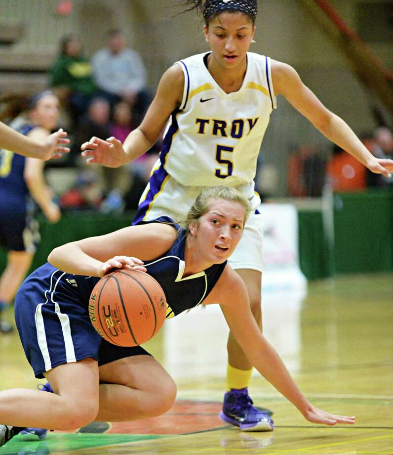Averill Park junior Samantha Laranjo scored 11 points and was named to the All-Tournament Team after a 58-56 victory over Troy in a Section II Class A title game on Saturday. Read more. Photo: John Carl D'Annibale / 10030882A