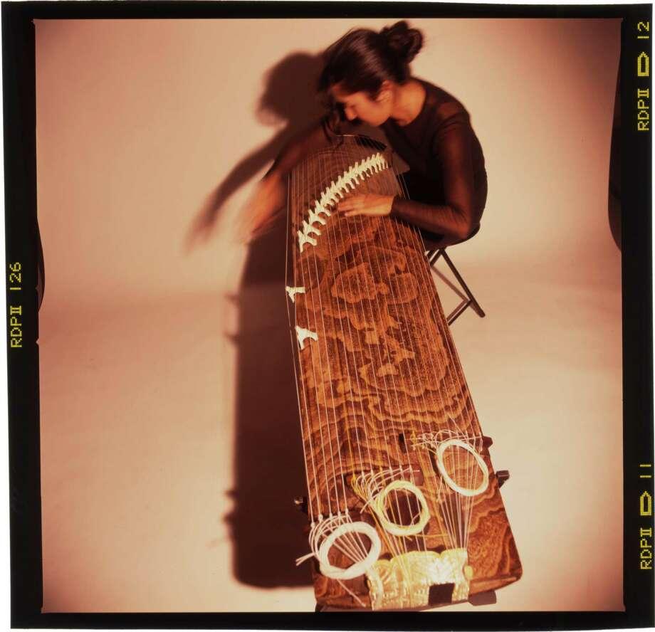 Composer and koto virtuoso Miya Masaoka Photo: Lori Eanes / ONLINE_YES
