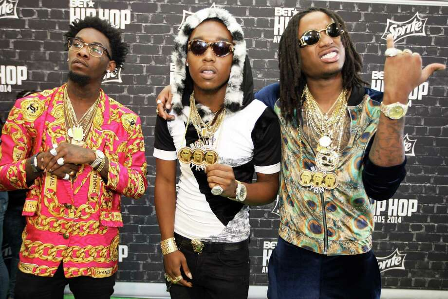 Rap trio Migos were reportedly booted from a Delta flight on Friday, June 7, 2017. / © Corbis.  All Rights Reserved.