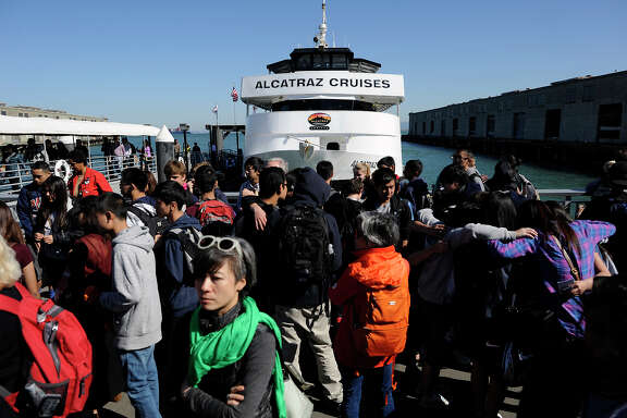 Alcatraz ferry service is sold out about 80 percent of the time, notes a Golden Gate National Recreation Area spokeswoman.