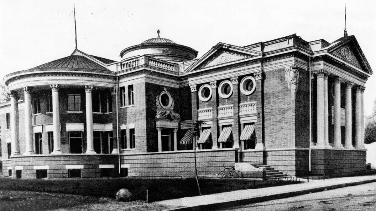 Steel baron Andrew Carnegie pledged $50,000 to build San Antonio's first public library, which opened in 1903 at 210 W. Market St. Carnegie later donated an additional $20,000 to expand the building.