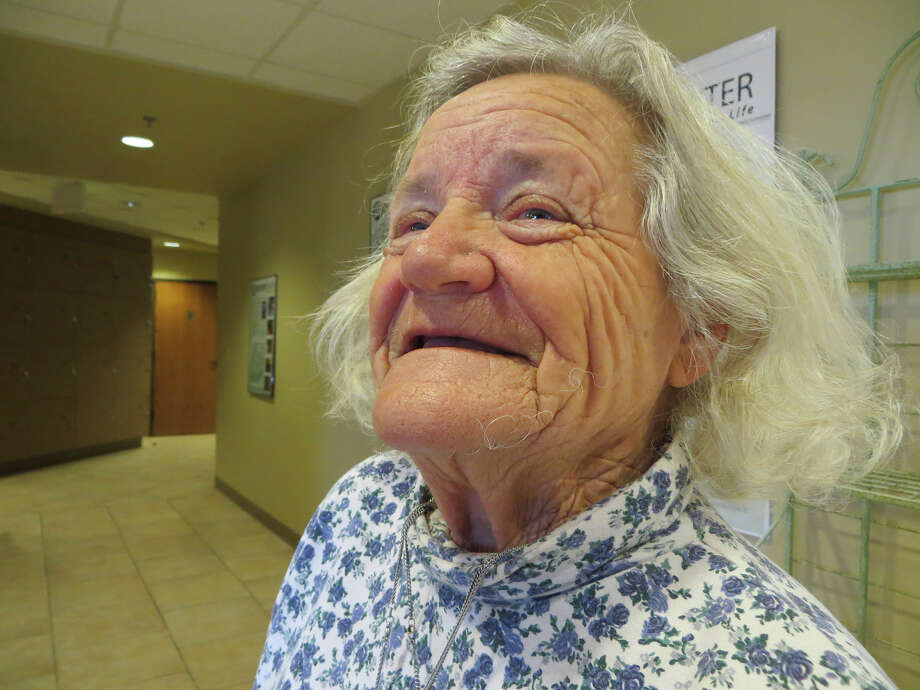 """Joyce Griffin, a client at  the Dietert Senior Center in Kerrville, says she knows  just one millionaire there. """"He doesn't show it,"""" she said. """"He has a beat-up Chevy pickup from the 1970s."""" Photo: Zeke MacCormack /San Antonio Express-News / San Antonio Express-News"""