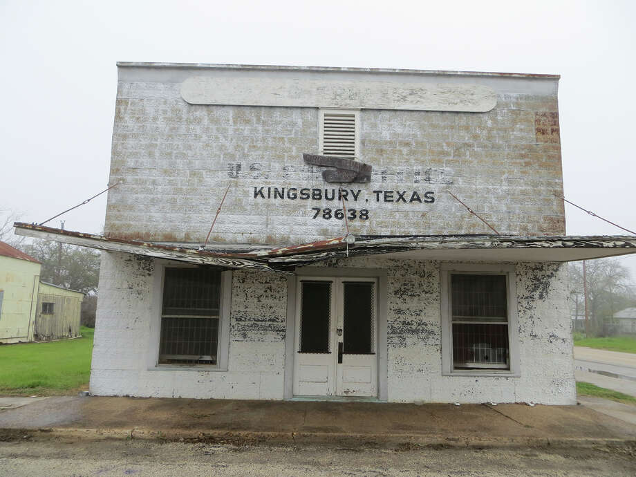 The former post office in Kingsbury is in its downtown and, because of a Seguin City Council vote in 2013, it is within Seguin's extraterritorial jurisdiction, too. Photo: Zeke MacCormack /San Antonio Express-News / San Antonio Express-News