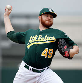 Ryan Doolittle has pitched over parts of six seasons in the A's minor-league system.