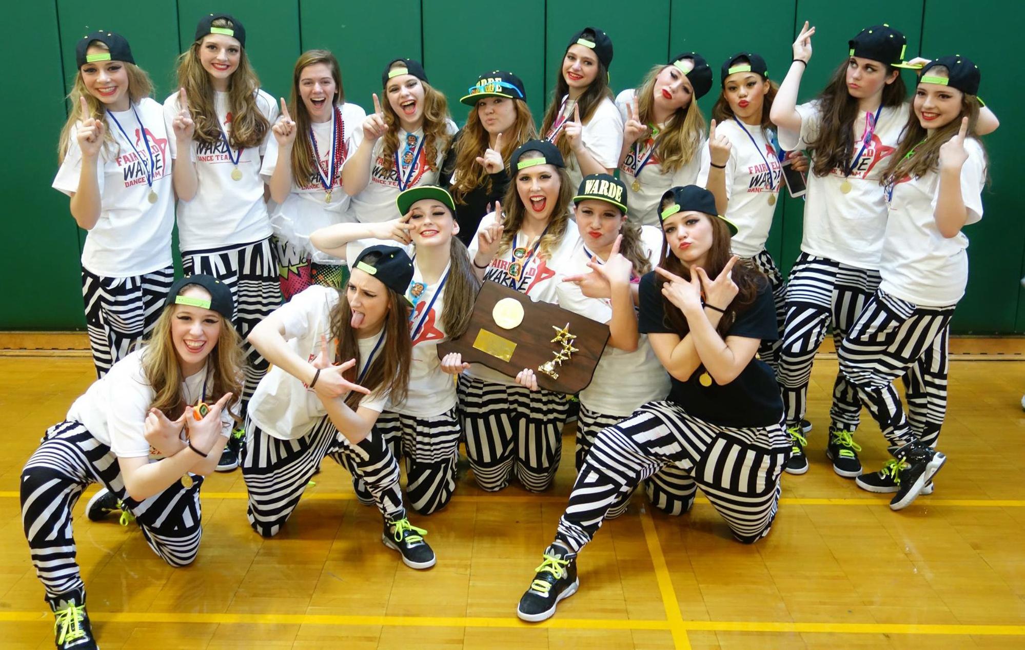 Fairfield Warde dance team takes New England title - Fairfield Citizen