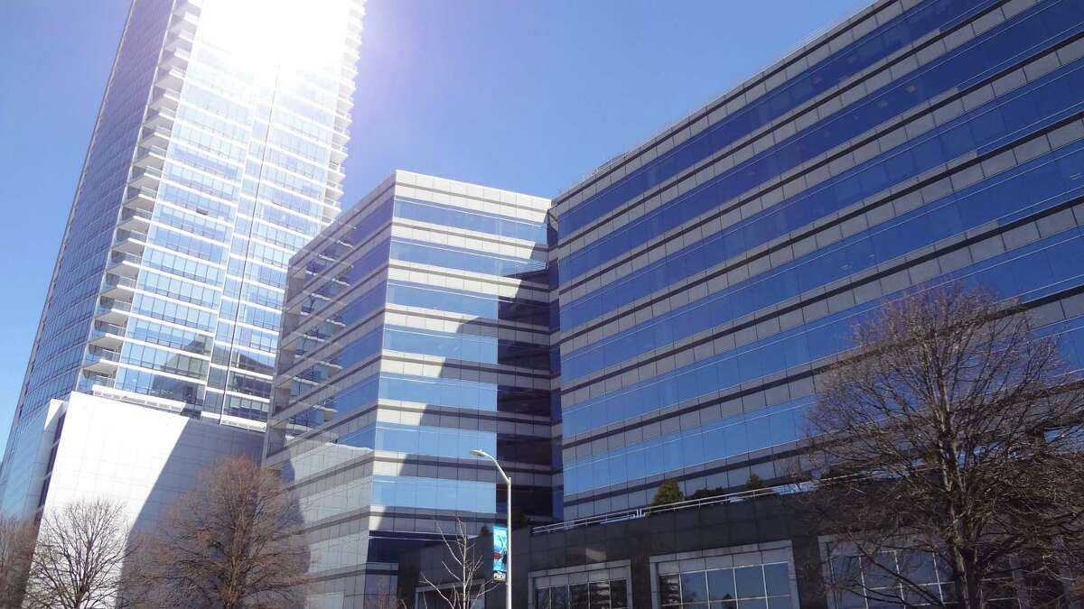 Viridian Energy will meet with Connecticut regulators Friday following customer complaints of how it charges for electricity service. Pictured is Viridian's headquarters building at 1055 Washington Blvd. in Stamford, Conn. on Monday, March 9.