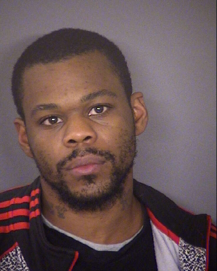 Adrian Perkins, 24, is one of three suspected gunmen in a Martin Luther King Day shooting that left two dead on the East Side. Photo: Bexar County Sheriff's Office