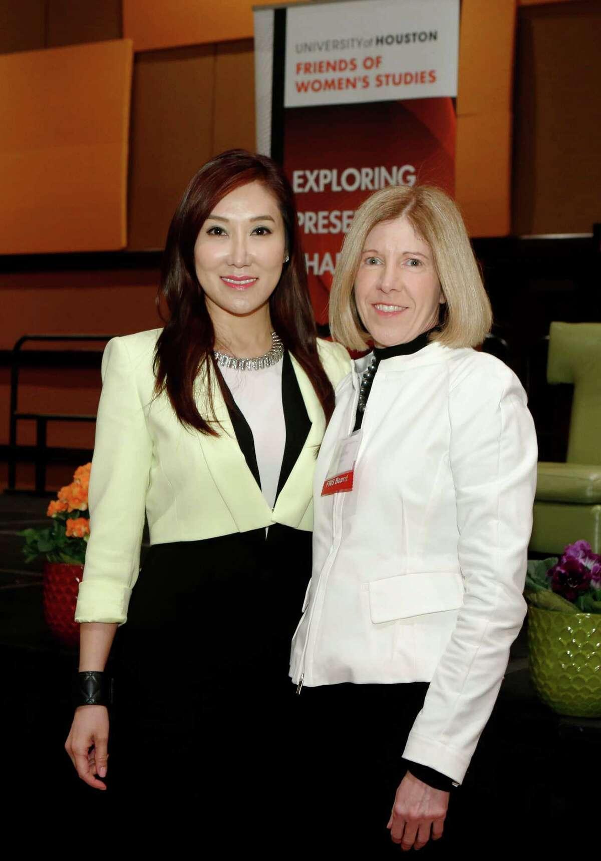 Mandy Kao, left, and Caroline Fant