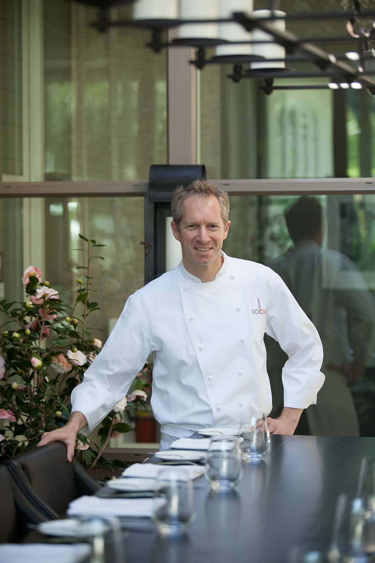 Chef Brandon Sharp of Sol Bar at the Solage Resort in Calistoga.