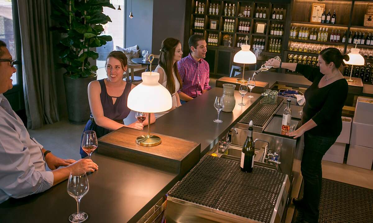 The tasting room at the Cairdean Estate Winery in St. Helena, Calif. is seen on Friday, September 5th, 2014.