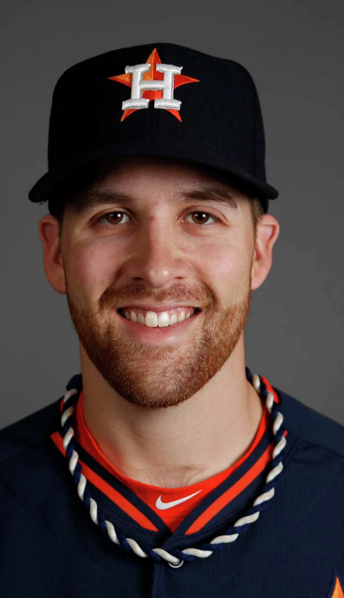 Houston Astros starting pitcher Collin McHugh photographed during Houston Astros spring training at the Osceola County facility, Thursday, Feb. 26, 2015, in Kissimmee. ( Karen Warren / Houston Chronicle )