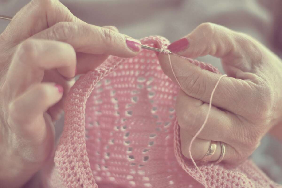 Alaska - Knitting supplies.