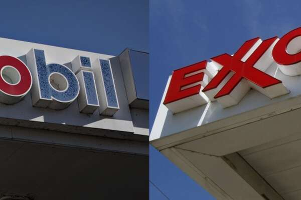 1998,  Exxon  and  Mobil  merge  $80.3 billion stock deal