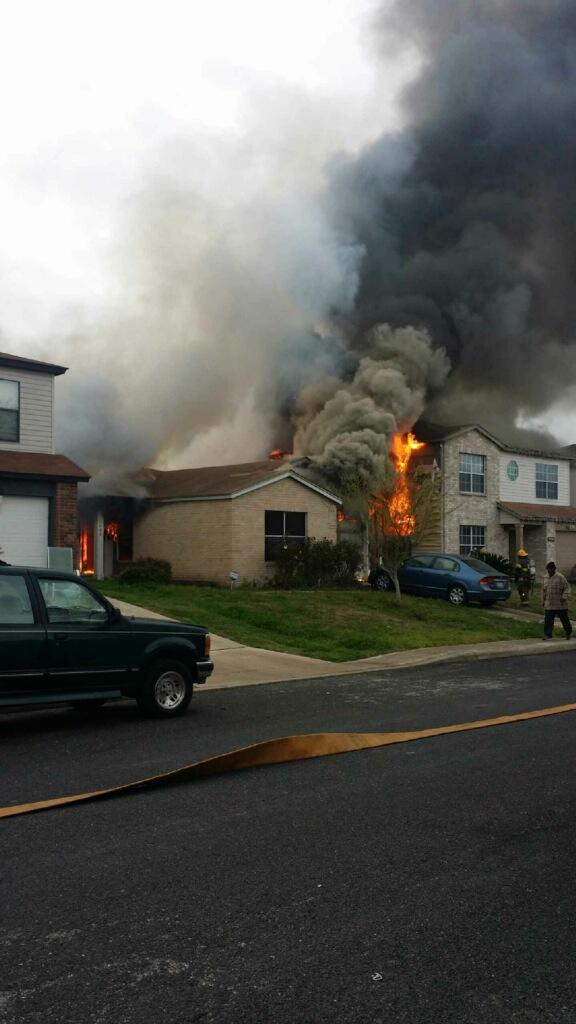 a fire in my neighbourhood
