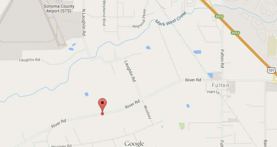 Two drivers were killed in a head-on crash on River Road in Sonoma County. Photo: Google Maps