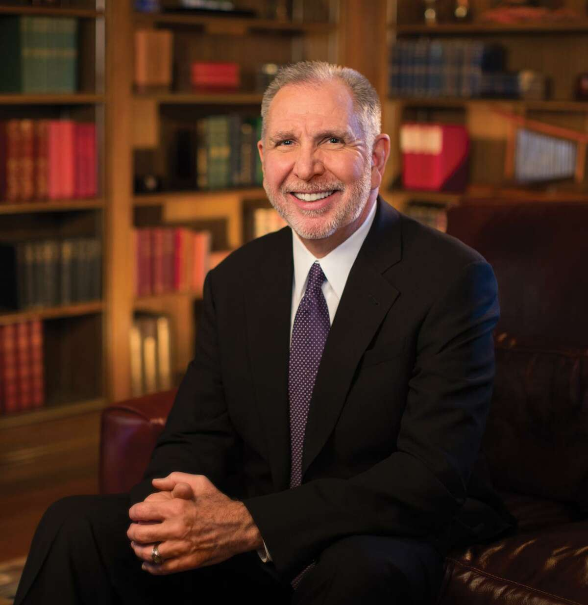 Michael K. Young, the sole finalist for the presidency of Texas A&M University. Credit: University of Washington