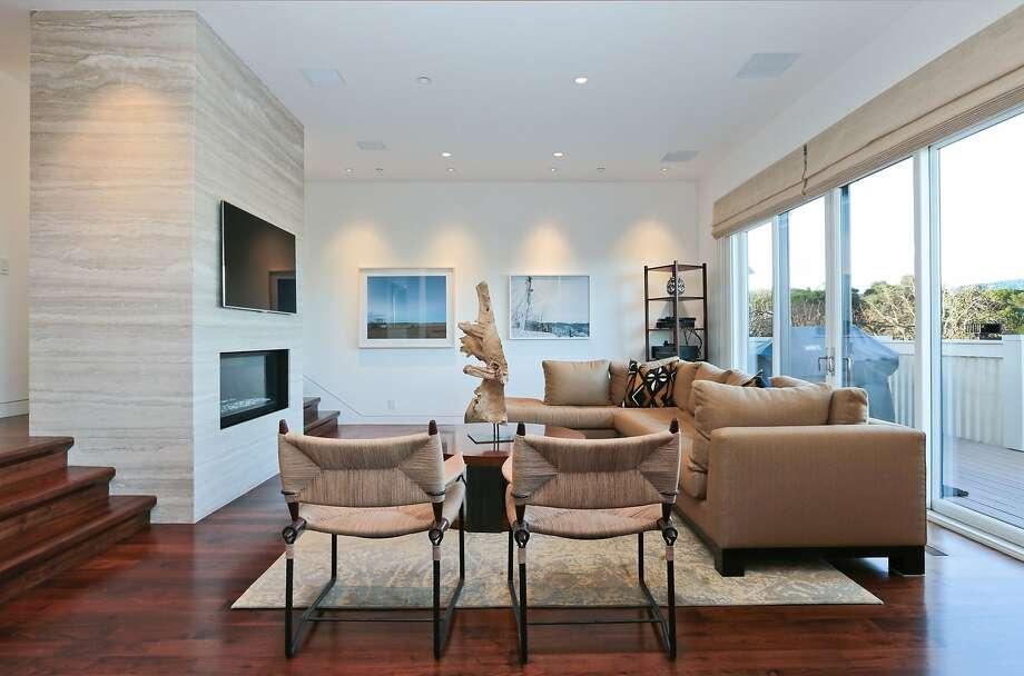 The living room opens to a Trex deck.See what else is currently listed in Menlo Park.