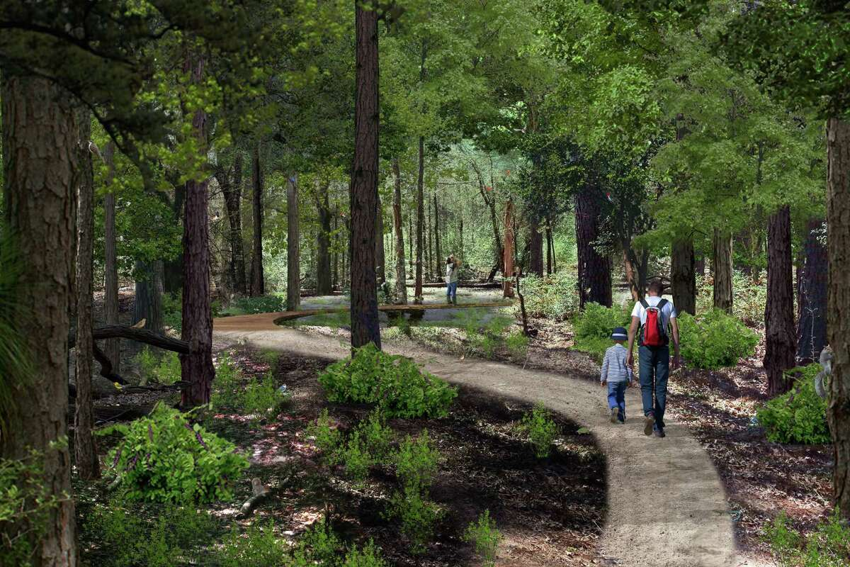 Nature trails will lead park visitors through a variety of habitats.