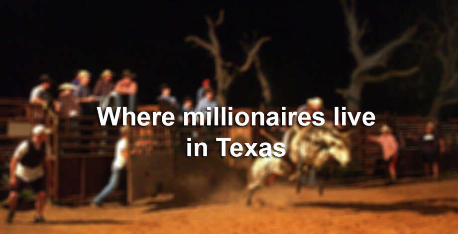 Click through the gallery to see the Texas towns with the most millionaires per capita. Photo: CYRUS MCCRIMMON, Photo Illustration / Denver Post