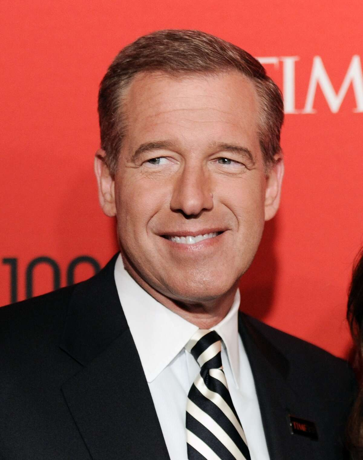 FILE - In this April 24, 2012 file photo, NBC News anchor Brian Williams attends the TIME 100 gala. (AP Photo/Evan Agostini, File)