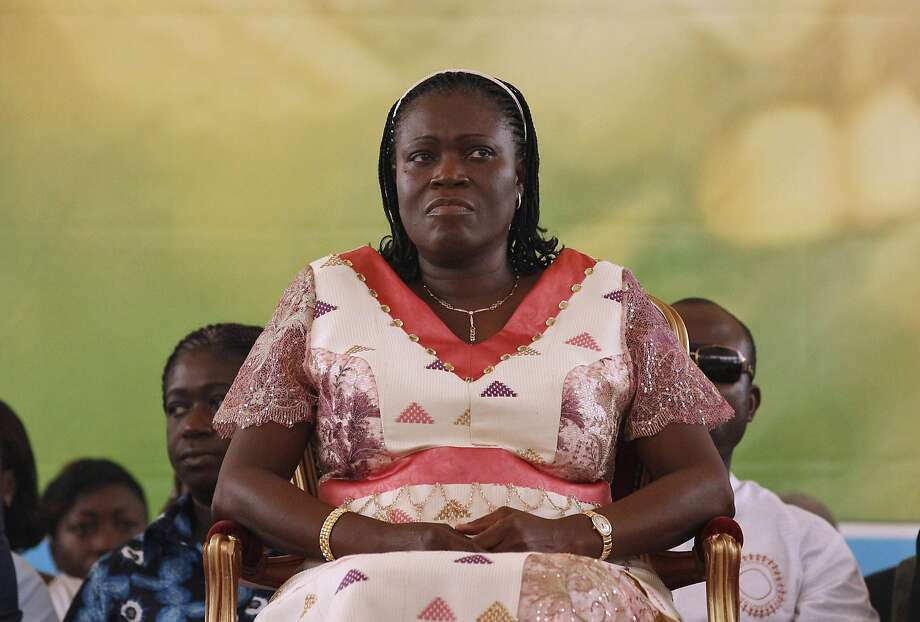 Former first lady Simone Gbagbo was sentenced to 20 years' jail by an Ivory Coast court for her part in post-election violence that killed more than 3,000 people. Photo: Rebecca Blackwell, Associated Press