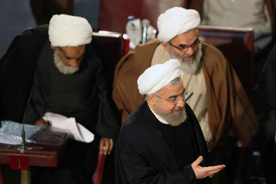 Not many are laughing after a group of Republican congressmen shot off a letter to Iranian leaders, warning them any nuclear deal wouldn't last past President Barack Obama's time in the White House. Now, there are calls of treason against the letter's backers. See who signed this bombastic missive. Photo: Vahid Salemi, STR / AP
