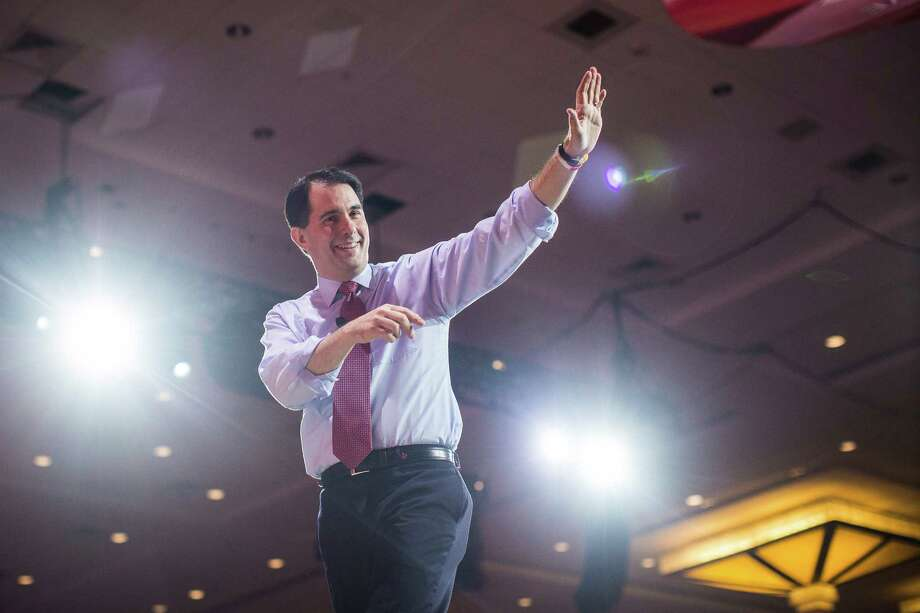 A recent opinion piece in the Express-News defended Wisconsin Gov. Scott Walker for not earning a college diploma. One of our readers disagrees, saying a man who has such little regard for higher education is not presidential material. Photo: JABIN BOTSFORD /New York Times / NYTNS