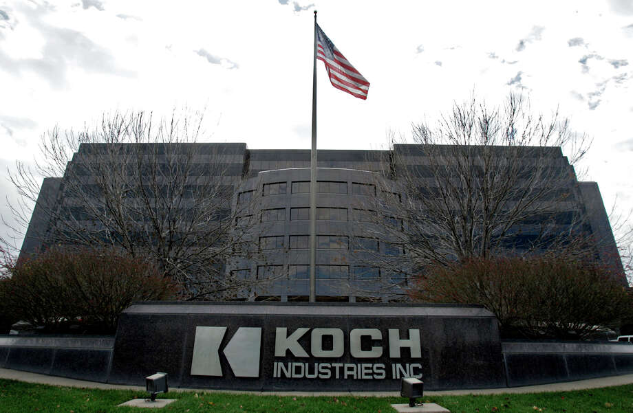 Koch Industries is based in Wichita, Kan. Three Democrats are asking companies if they backed research into global warming. Photo: LARRY W. SMITH, STR / AP