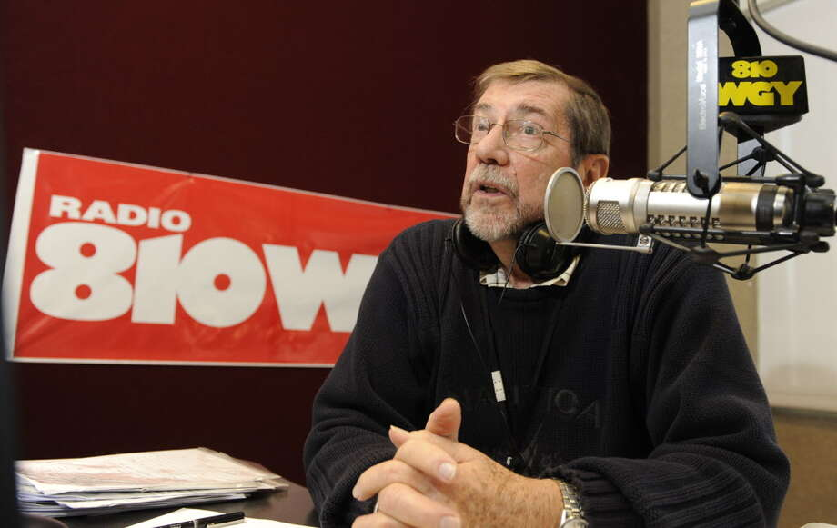 Morning radio personality Don Weeks in his studio at WGY 810 in Latham, New York October 14, 2009. (Skip Dickstein/Times Union) Photo: Skip Dickstein / 00005917A