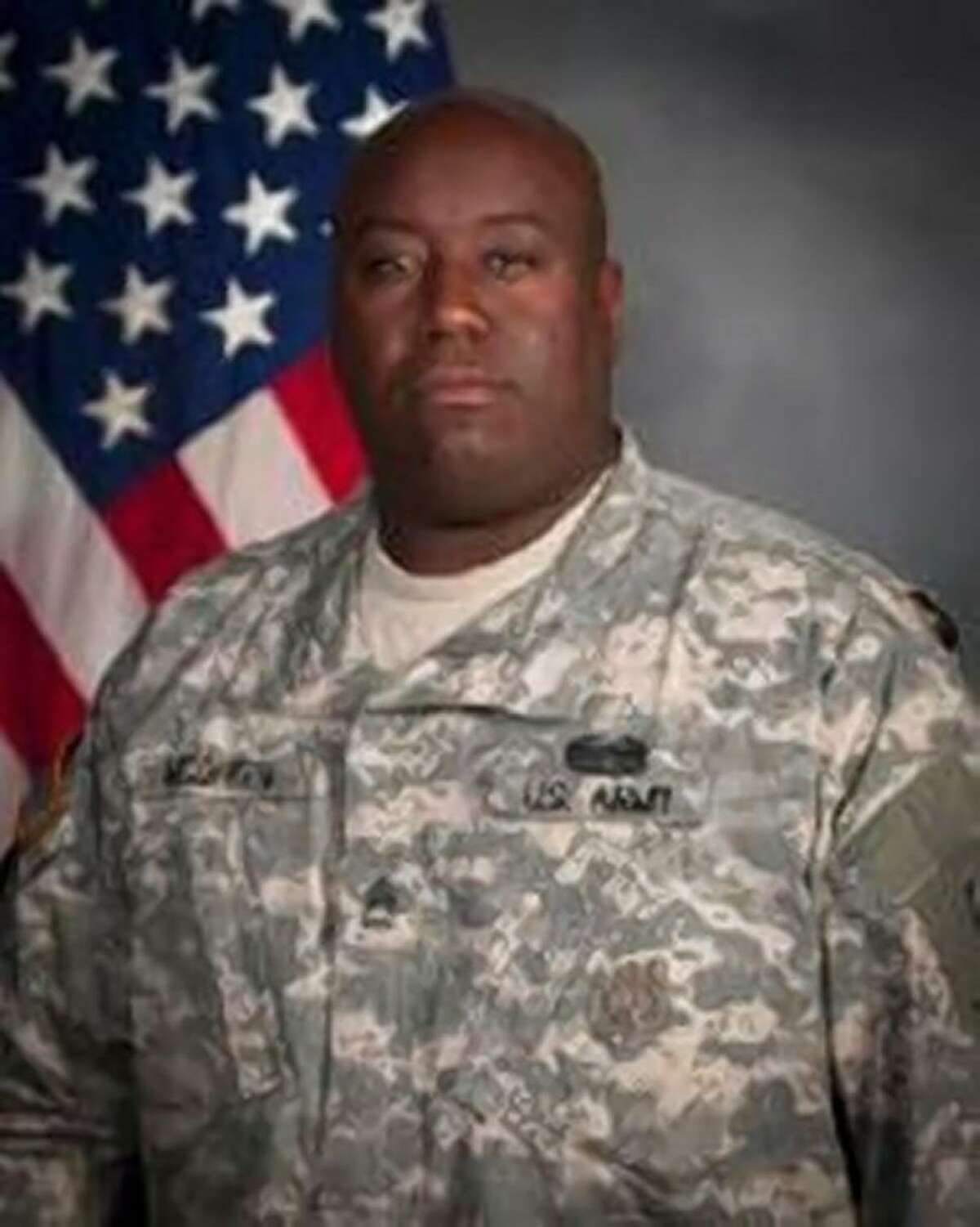 Sgt. 1st Class Gregory McQueen*Editor's Note: An earlier version of this story included photos of a person that is not McQueen. A Fort Hood liaison misidentified Sgt. 1st Class Gregory McQueen to journalists gathered prior to the hearing for the non-commissioned officer.