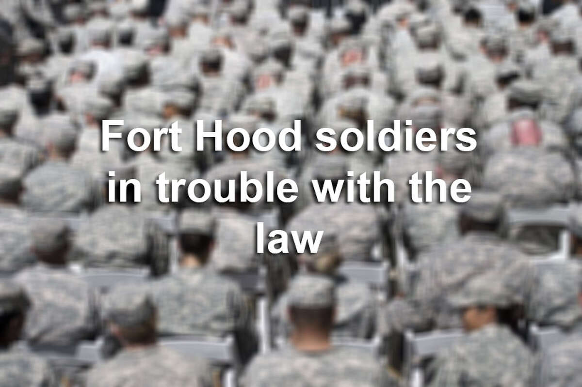 Click through the gallery to see Fort Hood soldiers who have been arrested.