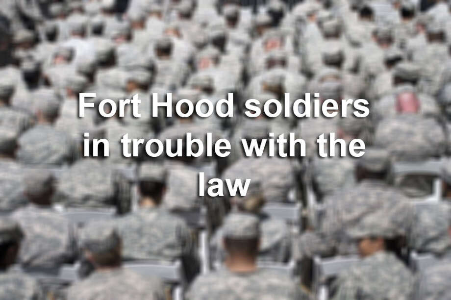 Click through the gallery to see Fort Hood soldiers who have been arrested. Photo: BRENDAN SMIALOWSKI, Photo Illustration / 2014 Brendan Smialowski