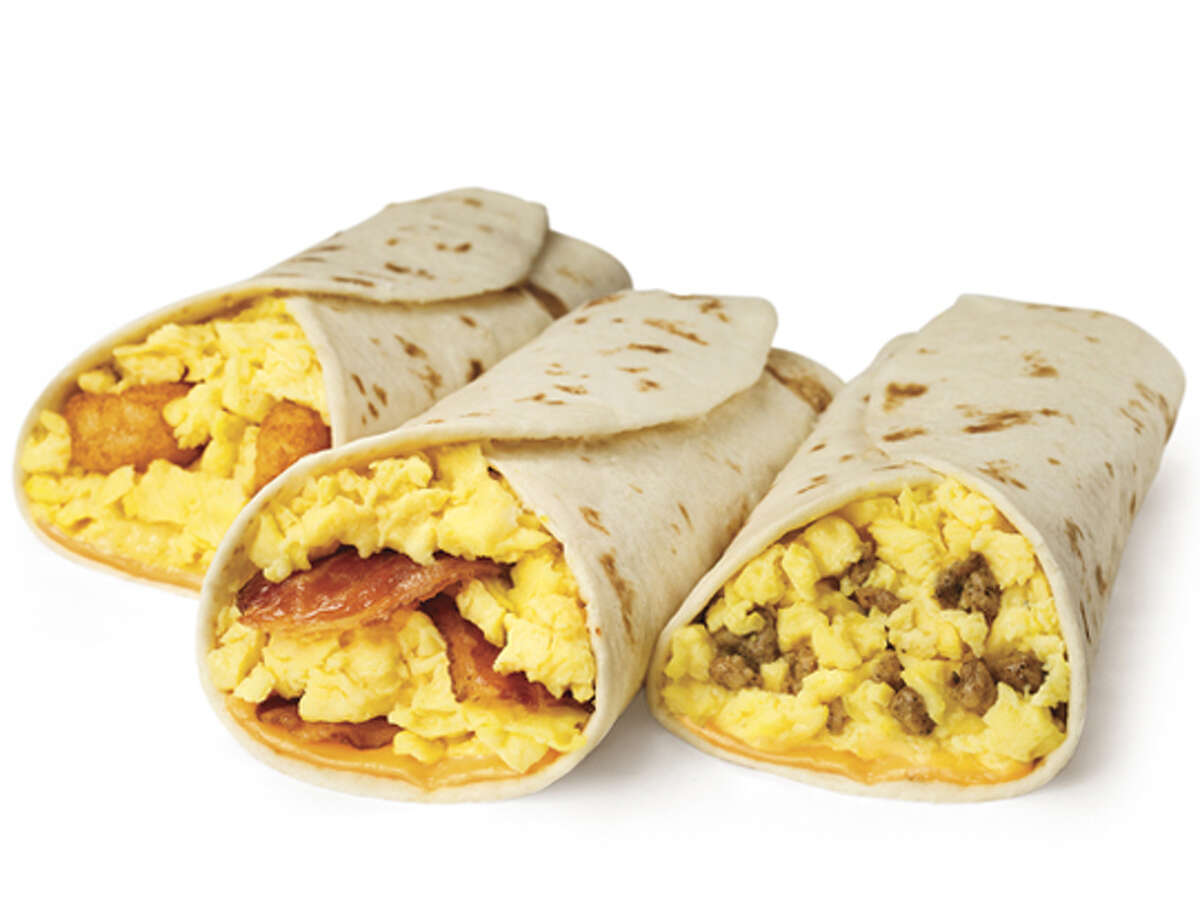Whataburger Taquito with Sausage, Egg & Cheese Calories: 450 Fat: 25 grams