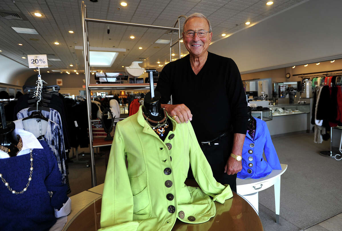 Harpers President Jerry Gold is celebrating his store's 75th anniversary at 2246 Black Rock Turnpike in Fairfield, Conn. on Wednesday, March 11, 2015.