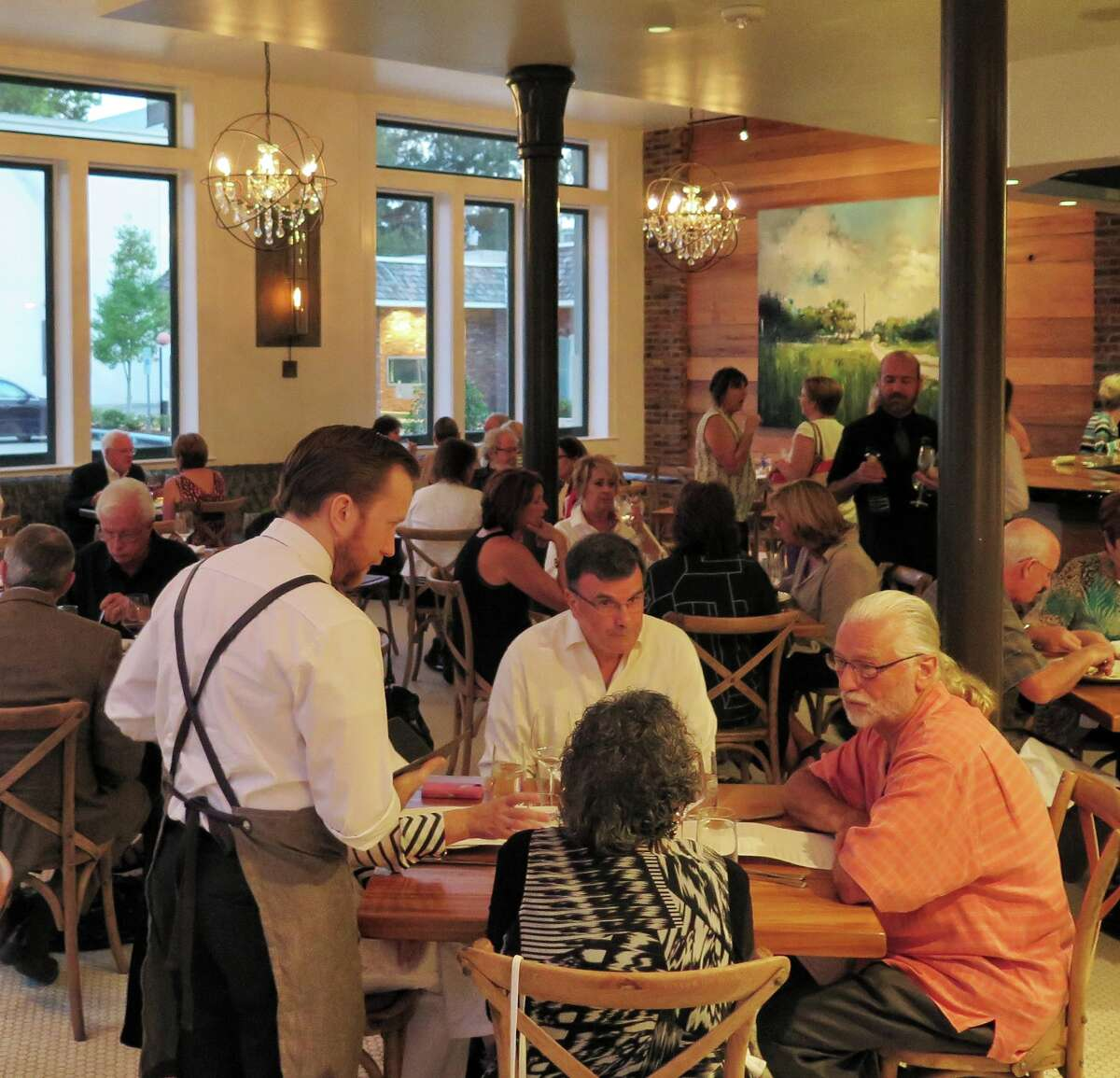 Ox Lot 9 is a casual dinner restaurant at the Southern Hotel in Covington, La.