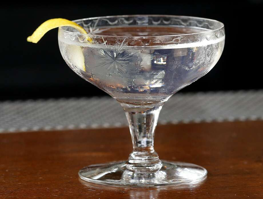 The finished White Lily cocktail at the Comstock Saloon in S.F.. Photo: Brant Ward, The Chronicle