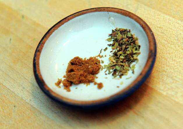 Cumin and oregano on Tuesday March 3, 2015 in Delmar, N.Y. (Michael P. Farrell/Times Union) Photo: Michael P. Farrell / 00030797A