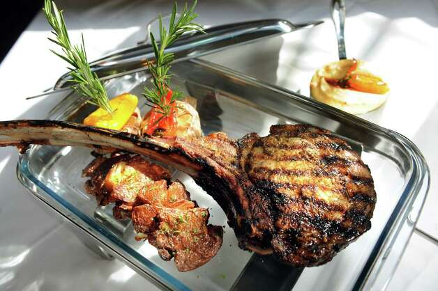 """Angelo?s 677 Prime, 677 Broadway, Albany. www.677prime.com. American. """"Big bills buoyed by expense-account-priced steaks and pricey wines are still the sun around which 677 Prime orbits.  This will probably always be one of few places in the Capital Region that?s packed on a Saturday night.""""  (Cindy Schultz / Times Union) Photo: Cindy Schultz / 00026109A"""