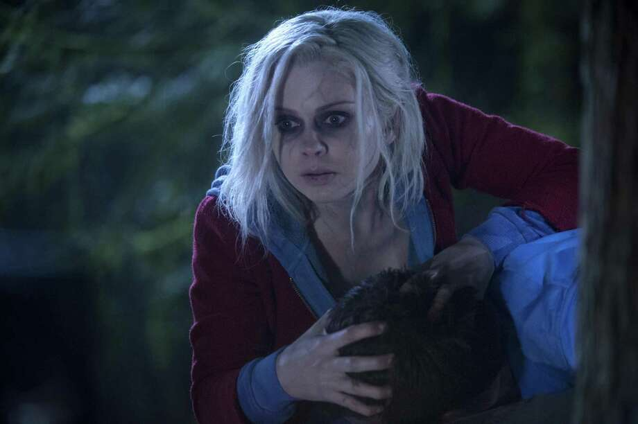 """Rose McIver stars as zombie/coroner Olivia """"Liv"""" Moore in the CW's 'iZombie' from executive producer Rob Thomas. March, 2015 Photo: Cate Cameron /The CW / The CW -- �© 2015 The CW Network, LLC. All rights reserved."""