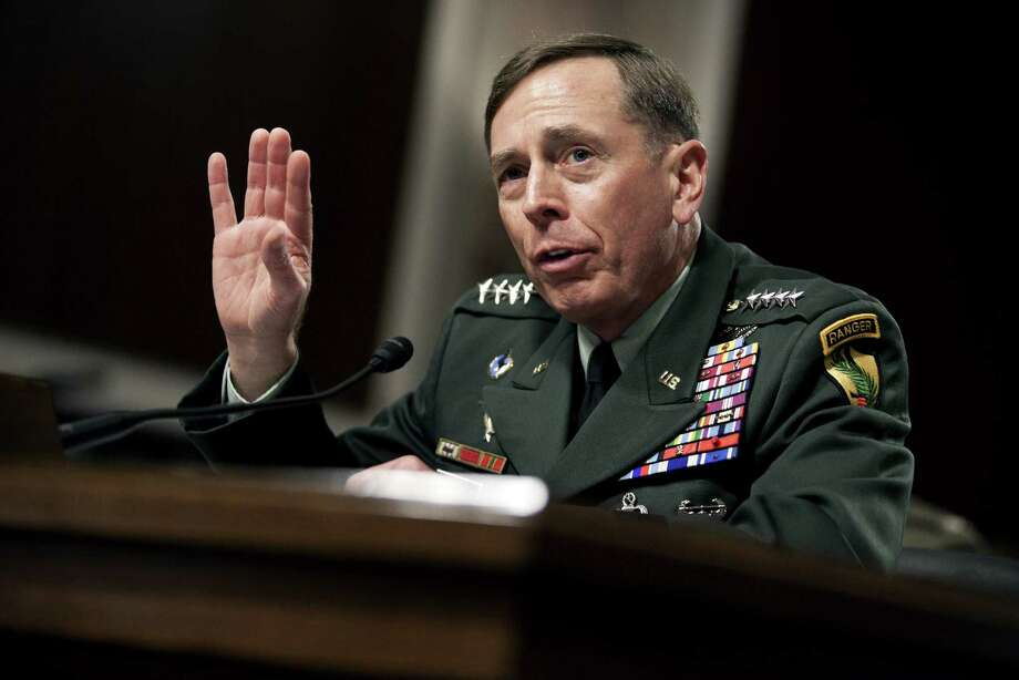 Former CIA director David Petraeus, shown during his confirmation hearing in 2010, has reportedly entered into an agreement with federal prosecutors allowing him to  avoid a trial. A reader says it could have gone much worse for Petraeus, considering the parallels with figures from ancient times. Photo: Getty Images File Photo / 2010 Getty Images