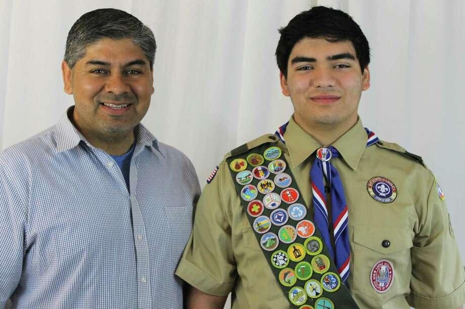 Ricardo Navarro is an Eagle Scout. Photo: Courtesy Photo / Courtesy Photo