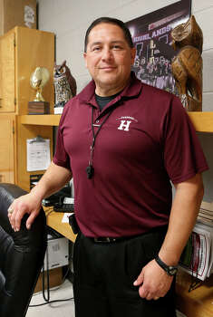 Highlands' new football coach and athletic coordinator is Juan Morales. Photo: Marvin Pfeiffer /San Antonio Express-News / Express-News 2015