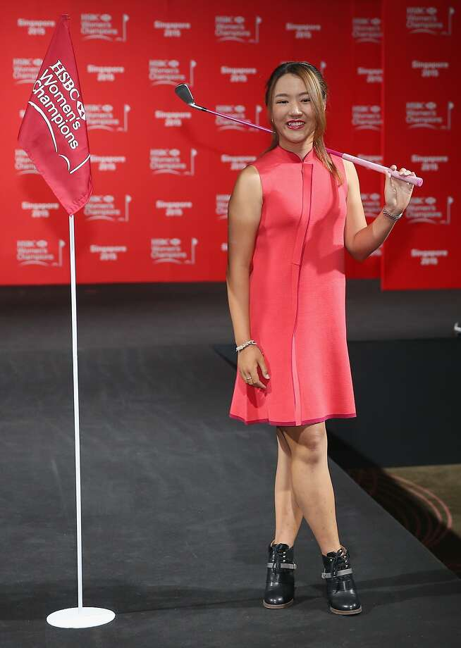 Lydia Ko of New Zealand attends the launch event for the HSBC Women's Champions in Singapore. Photo: Andrew Redington, Getty Images