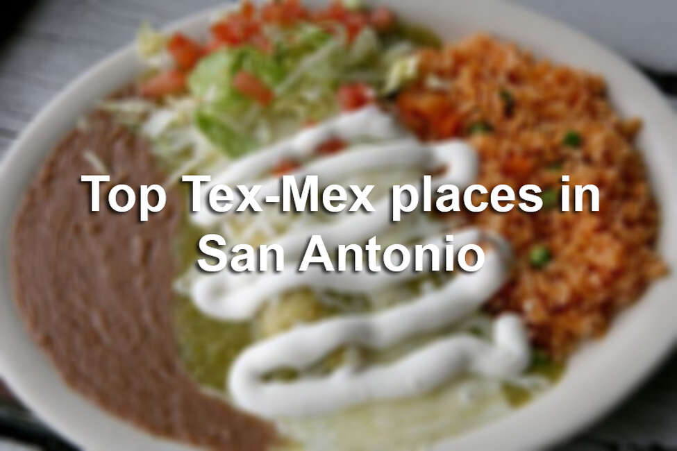 Click through to see some of the top Tex-Mex joints in the Alamo City, as chosen by the Express-News Taste team.