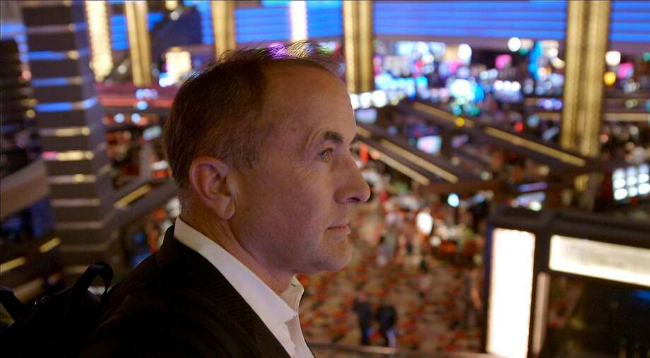 """Featured in the documentary """"Merchants of Doubt"""" is Michael Shermer, executive director of the Skeptics Society and founding publisher of Skeptic magazine, who changed his position on climate change in 2006. Illustrates FILM-MERCHANTS-ADV13 (category e), by Ann Hornaday © 2015, The Washington Post. Moved Wednesday, March 11, 2015. (MUST CREDIT: Barry Berona/Sony Pictures Classics.) Photo: Handout, Washington Post"""